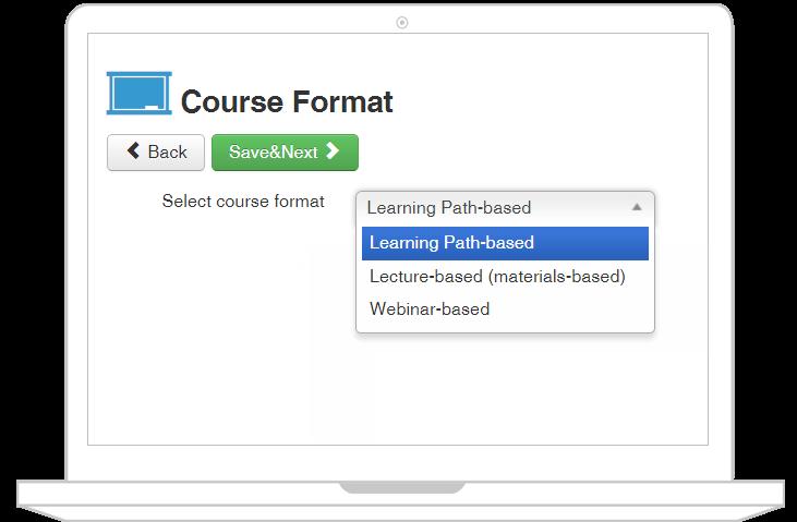 joomlalms course format