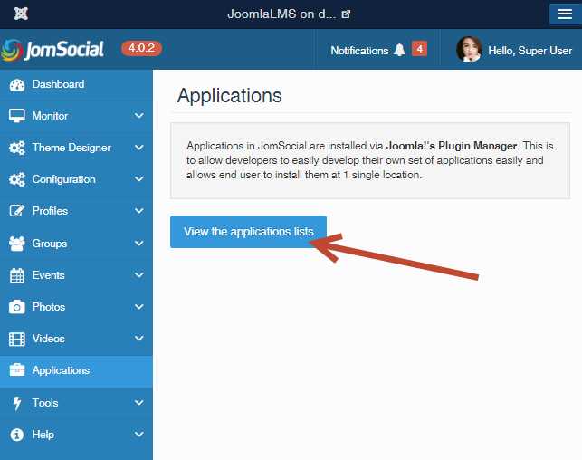joomlalms and jomsocial