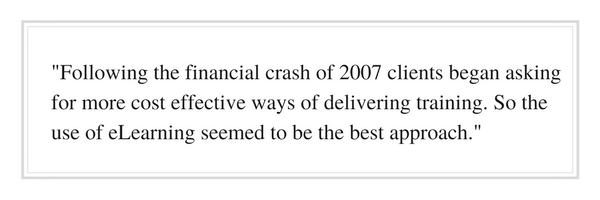 Following the financial crash of 2007