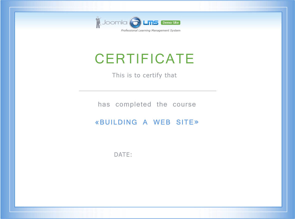 certificate creation and configuration