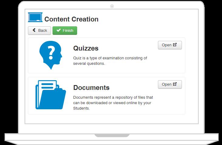 JoomLMS content builder