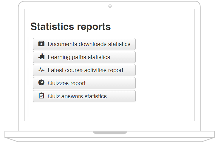 Joomla LMS statistics