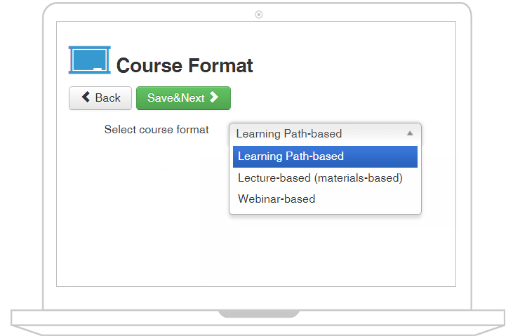 joomlalms course format