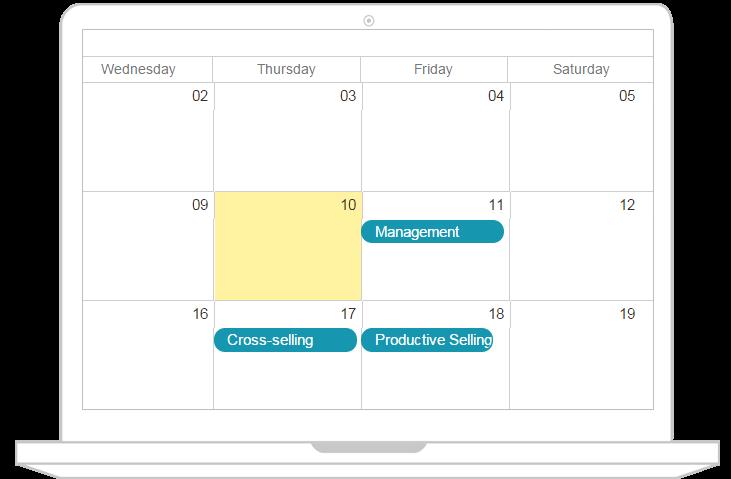 joomlalms calendar