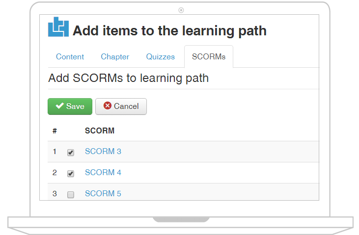 joomlalms learning path